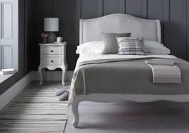 Grey Bed Frame Emily Grey Bed Frame Lfe Inspiration Collection