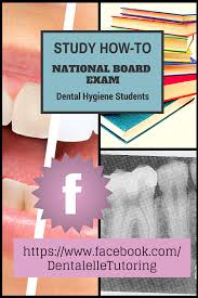 study for the national dental hygiene board exam all online