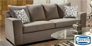 Simmons Sleeper Sofa by Venture Smoke Queen Sleeper Sofa Sofa Sleepers Livingroom