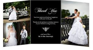 wedding thank you photo wedding thank you cards lilbibby