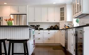 New Designs For Kitchens by Chic New Design For Kitchen Inspiration With White Teak Cabinets