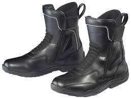 black motorcycle shoes tour master flex wp boots revzilla