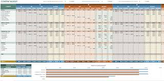 Financial Planning Worksheet 12 Free Marketing Budget Templates