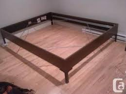 ikea engan queen bed frame vancouver east for sale in