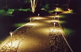 Solar Patio Lighting Ideas by Home Decor Landscape Lighting Ideas Fumachine Com