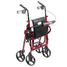 Transport Walker Chair Drive Medical Duet Dual Function Transport Wheelchair Walker