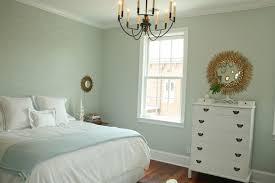 Duck Egg Bedroom Ideas Blue Monogrammed Stencil Over White Bed Design Ideas