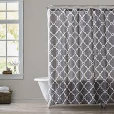 gray and aqua shower curtain wayfair