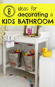 kid bathroom decorating ideas 8 ideas for decorating a bathroom tipsaholic
