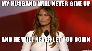 Rick Roll Memes - melania trump rick rolls 2016 republican presidential primary