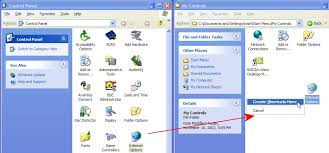 membuat database admin dengan xp windows xp control panel shortcuts geekgirl s plain english computing