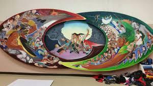 Denver International Airport Murals Pictures by Parents Voice Concerns Over Pueblo Elementary Mural Koaa