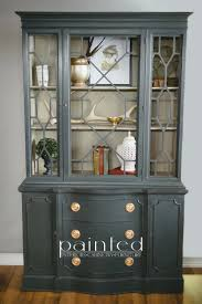 Dining Room Buffet And Hutch Painted Dining Room Hutch Ideas Display Decorate Buffet Built In