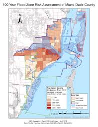 Flood Zone Map Florida by Flood Vulnerability Assessment Miami Dade Fl U2014 Hyunsoo Kanyamuna