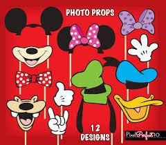 mickey mouse photo booth mickey mouse photo booth props mickey mouse birthday mickey
