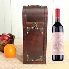 retro lock wood wine box storage box with handle gift at banggood