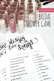 bridal shower for large groups bridal shower disney songs printable bridal shower