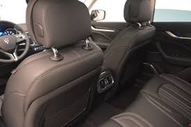 maserati levante interior back seat 2017 maserati levante 350hp stock w1678 for sale near westport