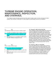 4 turbine engine operation gas turbine turbine
