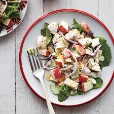 honey lemon chicken salad recipe myrecipes