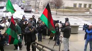David Hammons African American Flag African American Flag Over Cleveland City Hall Youtube