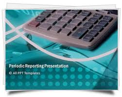 powerpoint periodic reporting template