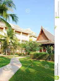 house design and garden in thailand stock photo image 40172684