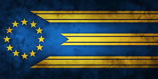Union Of The Flag An Alternate Flag Of The European Union Based Upon The Flag