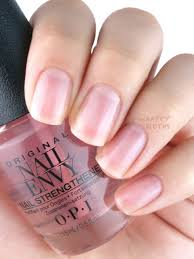 new opi nail envy nail strengthener strength color review and