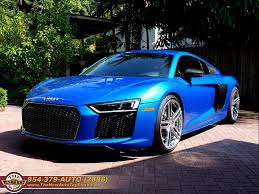 audi r8 chrome blue 2017 audi r8 5 2 quattro v10 plus