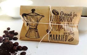 coffee wedding favors coffee favors coffee drinker
