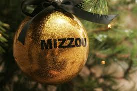black or gold mizzou sec ornaments by lsembroidery