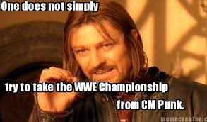 One Does Simply Not Meme Generator - meme creator one does not simply try to take the wwe