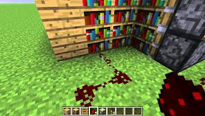 minecraft how to make moving bookshelf door youtube idolza