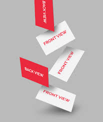 Business Cards Mockups Free Falling Business Cards Mockup Graphicsfuel