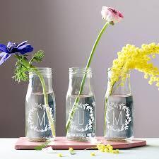 personalised u0027mum u0027 bottle bud vases by becky broome