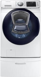 Samsung Blue Washer And Dryer Pedestal Samsung Wf45k6500aw 27 Inch 4 5 Cu Ft Front Load Washer