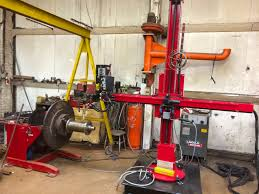 column and boom welding manipulators spectrum welding supplies ltd