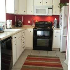 paint colors for kitchen industrial style white wall and brick