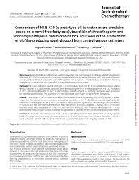 infection chambre implantable les voies veineuses centrales de longue durée type picc