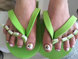 christmas tree toes all stars nail salon