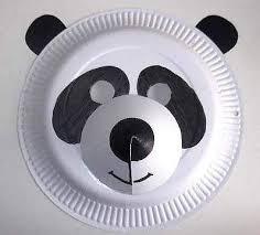 Paper Plate Monkey Craft - craft animal paper plate masks