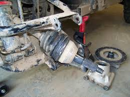 howto replace a torn cv boot on a polaris sportsman ace