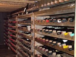 Barn Board Wine Rack Hand Made Custom Barnwood Wine Cellar Wine Rack By Bluebuck