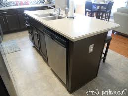 how to install a kitchen island alluring trim out kitchen cabinets install electrical outlet in