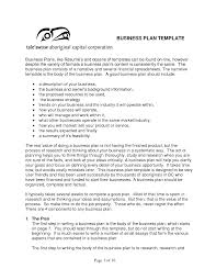 business plan format xls one page business plan withmples sles templates startup sle