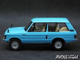 1970 land rover land rover range rover 3 5 rhd 1970 l blue 1 43 ixo аукцион