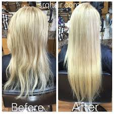 she hair extension before after she hair extensions by socap adding volume