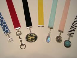 ribbon bookmarks diy equestrian ribbon bookmarks velvet rider