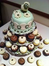 lamb cupcakes for a baby shower baby stuff pinterest lamb